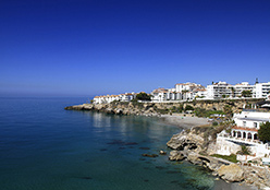 Language Courses in Malaga: Beaches in Nerja