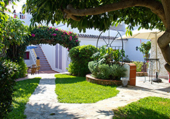 Language School Nerja: Yard